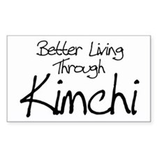 Kimchi Rectangle Decal