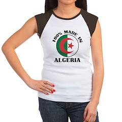 100% Made In Algeria Women's Cap Sleeve T-Shirt