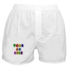 """""""Your Ad Here"""" Boxer Shorts"""
