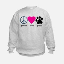 Peace Love Paws Sweatshirt