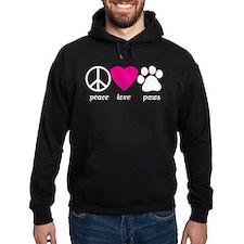 Peace Love Paws Hoodie