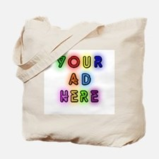 """""""Your Ad Here"""" Tote Bag"""