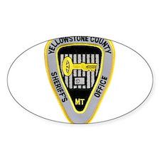 Yellowstone County Sheriff Decal