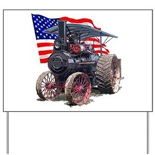 The Advance Steam Traction En Yard Sign