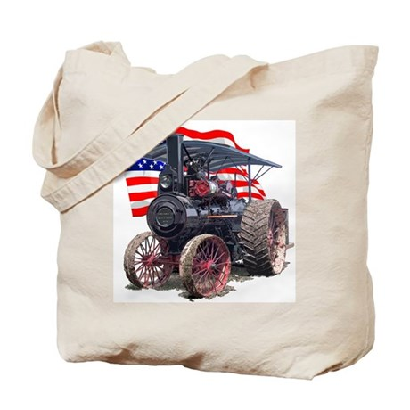 The Advance Steam Traction En Tote Bag
