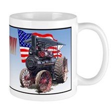 Cute Traction engine Mug