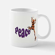 Frog Peace Mug