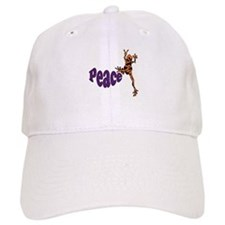 Frog Peace Baseball Baseball Cap