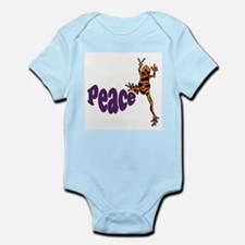 Frog Peace Infant Bodysuit