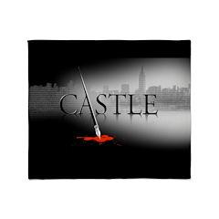 Castle Logo Throw Blanket