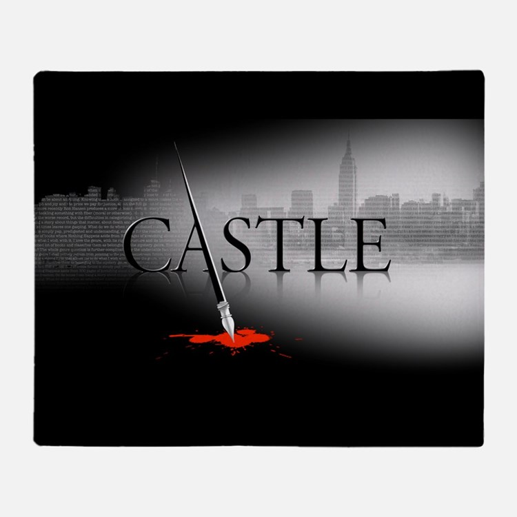 Castle Logo Throw Blanket