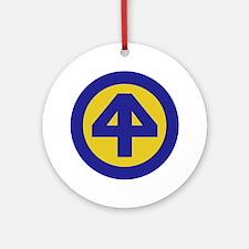 The 44th Ornament (Round)