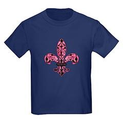 Pink Grunge Fleur T