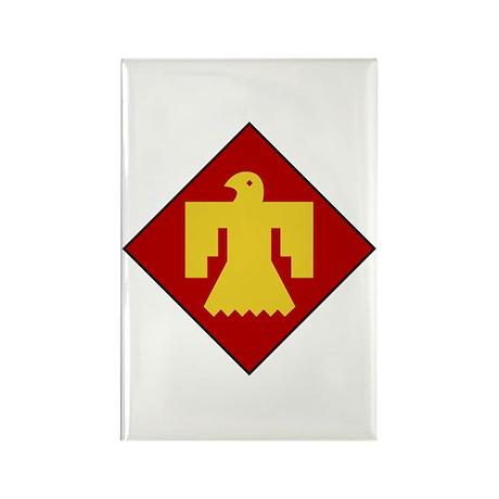 Thunderbirds Rectangle Magnet (100 pack)