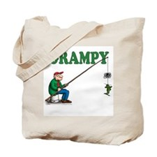 Fishing Grampy Tote Bag