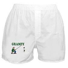 Fishing Grampy Boxer Shorts