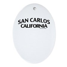 San Carlos Ornament (Oval)