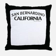 San Bernardino Throw Pillow