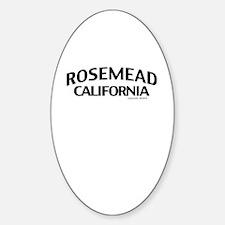 Rosemead Decal