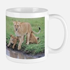 Lioness with Cubs Mug