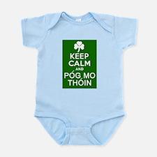 Keep Calm and Pog Mo Thoin Infant Bodysuit