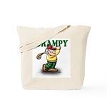 Golfer Grampy Tote Bag