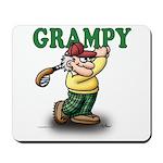 Golfer Grampy Mousepad