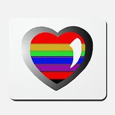 Love and Rainbows Mousepad