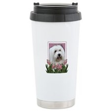 Mothers Day - Pink Tulips Travel Mug