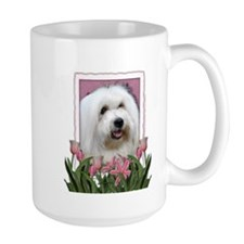 Mothers Day - Pink Tulips Mug