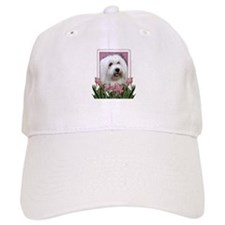 Mothers Day - Pink Tulips Baseball Cap