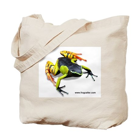 Painted Madagascar Poison Fro Tote Bag