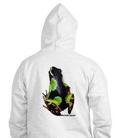2sided Madagascar Poison Frog Hoodie