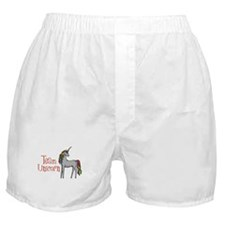 Team Unicorn Rainbow Boxer Shorts