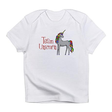 Team Unicorn Rainbow Infant T-Shirt