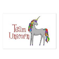 Team Unicorn Rainbow Postcards (Package of 8)