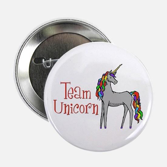 "Team Unicorn Rainbow 2.25"" Button"