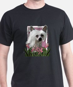 Mothers Day - Pink Tulips T-Shirt