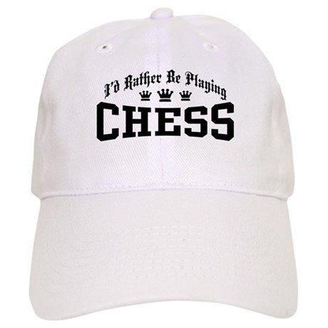 I'd Rather Be Playing Chess Cap