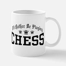 I'd Rather Be Playing Chess Mug