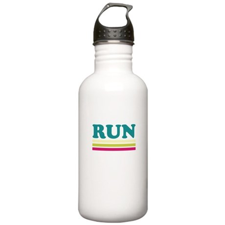 Retro RUN Stainless Water Bottle 1.0L