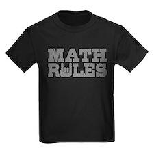 Math Rules T