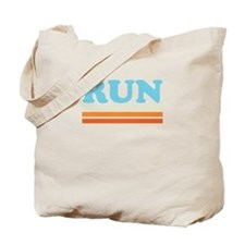 Retro RUN Tote Bag