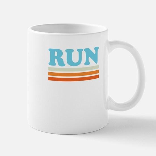Retro RUN Mug