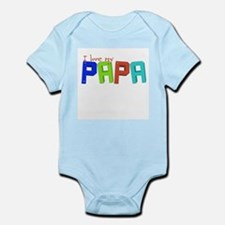 I love my papa Infant Bodysuit