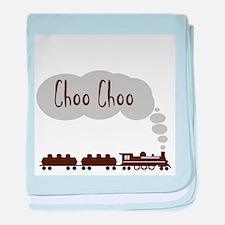 Choo Choo baby blanket