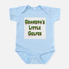 Grandpas Little Golfer Infant Bodysuit