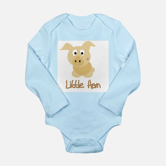Little Ham Long Sleeve Infant Bodysuit