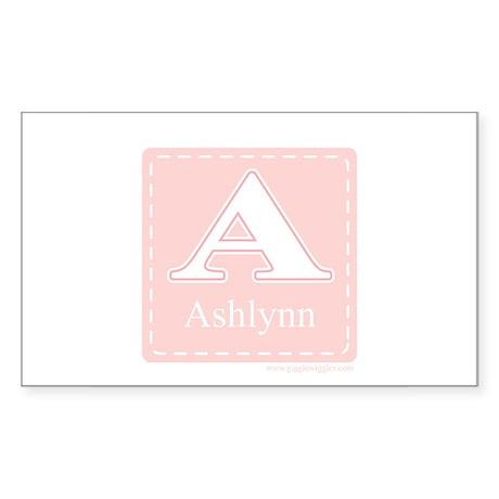 Ashlynn Rectangle Sticker