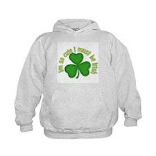 Im so cure I must be irish Hoodie